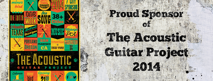 Minor Bird is a Sponsor of The Acoustic Guitar Project 2014